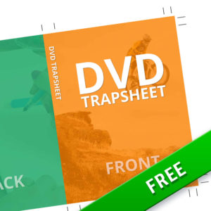 DVD Trapsheet Template