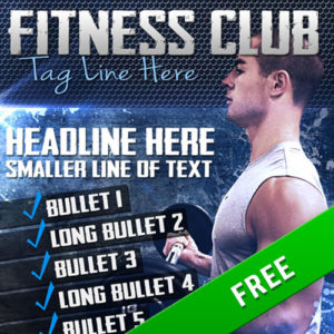 Fitness Poster 003