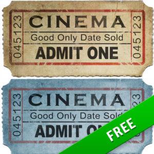 Old Movie Ticket